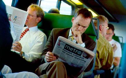 En stor eierpost i Metro er trolig til salgs og Murdoch mister nestkommanderende nesten samtidig. Foto: Metro International.